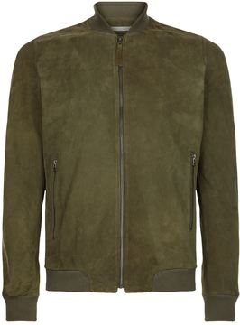 Lot 78 Suede Bomber Jacket