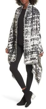 Sole Society Women's Oversize Jacquard Wrap