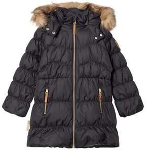 Ticket to Heaven Jet Black Detachable Hood Jacket