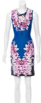 Cynthia Rowley Sleeveless A-line Mini Dress