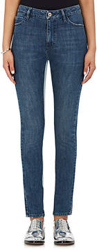 Each X Other Women's Striped-Inseam Slim Jeans