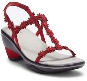 Jambu Cybill Leather Wedge Sandal