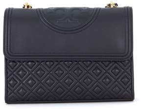 Tory Burch Fleming Black Leather Shoulder Bag - NERO - STYLE
