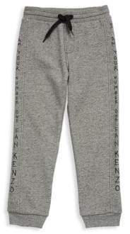 Kenzo Toddler's, Little Boy's & Boy's Text Cotton Sweatpants