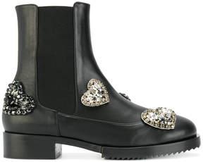 No.21 embellished chelsea boots