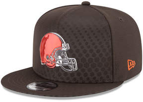 New Era Cleveland Browns On Field Color Rush 9FIFTY Snapback Cap