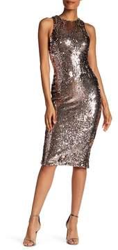 Dress the Population Shawn Sequined Midi Dress