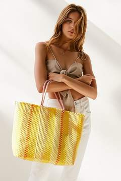 Urban Outfitters Sunny Stripe Woven Tote Bag