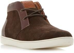 Dune London SEBASTIAN - BROWN High Top Chukka Style Sneaker