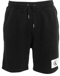 Calvin Klein Jeans Men's Black Cotton Shorts.
