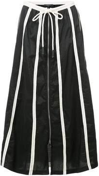 Derek Lam Full Skirt With Drawstring Waist