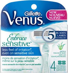 Gillette Venus Embrace Sensitive Cartridges