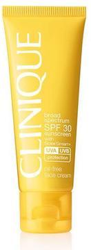 Clinique Broad Spectrum SPF 30 Sunscreen Oil-Free Face Cream, 50 ml
