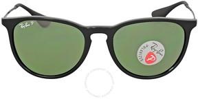 Ray-Ban Erika Classic Polarized Green Classic G-15 Sunglasses