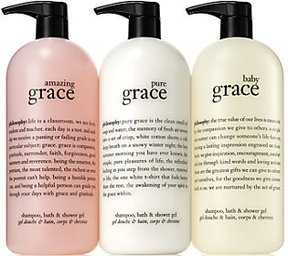 philosophy Super Size Grace Shower Gel Collection