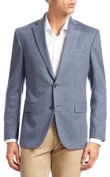 Saks Fifth Avenue COLLECTION Button Cashmere Blazer
