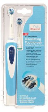 Walgreens Oscillating Rechargeable Toothbrush
