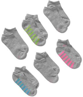 Hanes Women's Comfortblend No Show Socks, 6 Pack