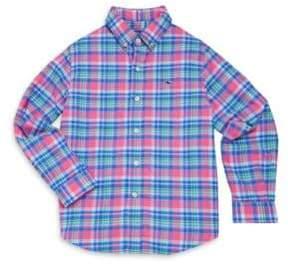 Vineyard Vines Toddler's, Little Boy's& Boy's Plaid Shirt