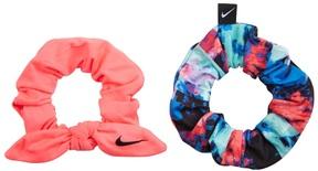 Nike Printed Gathered Hair Ties 2 Pack 8160552