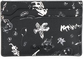 Lanvin printed cardholder