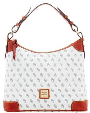 Dooney & Bourke Gretta Hobo Shoulder Bag - BONE - STYLE