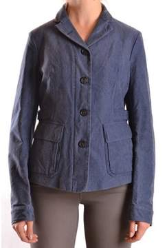 Brema Women's Blue Cotton Jacket.