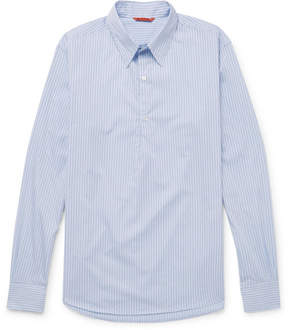 Barena Striped Cotton-Poplin Shirt