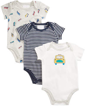 First Impressions 3-Pk. Car Cotton Bodysuits, Baby Boys (0-24 months), Created for Macy's