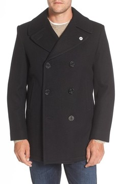 Cole Haan Men's Wool Peacoat