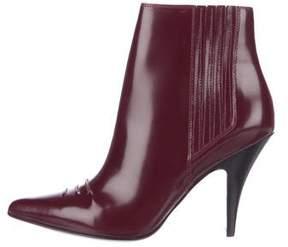 3.1 Phillip Lim Delia Leather Ankle Boots