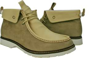 Burnetie Men's Casual Mid X Light Brown.