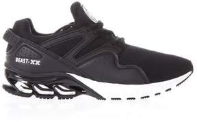 Philipp Plein Ksistof Black Nylon & Eco Leather Sneakers