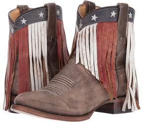 Roper Patriotic Fringe Cowboy Boots