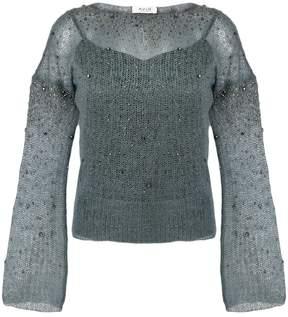 Aviu embellished top