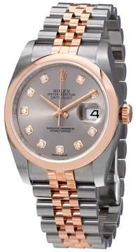 Rolex Datejust 36 Automatic Diamond Ladies Watch