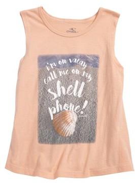 O'Neill Toddler Girl's Shell Phone Tank
