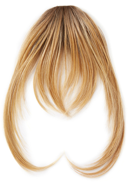 Hairdo. by Jessica Simpson & Ken Paves Rooted Ginger Blonde Hair Extension Bangs