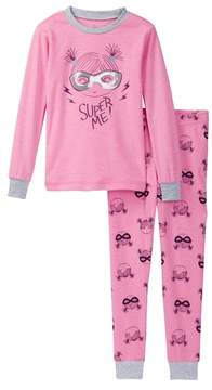 Petit Lem Super Me! Pajama Set (Toddler & Little Girls)