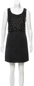 Erin Fetherston ERIN by Embellished Satin Dress w/ Tags