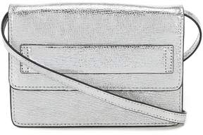 Vince Camuto Albyn Metallic Flap Cross-Body Bag