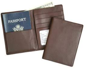 Royce Leather Unisex Rfid Blocking Passport Currency Wallet 222-5.