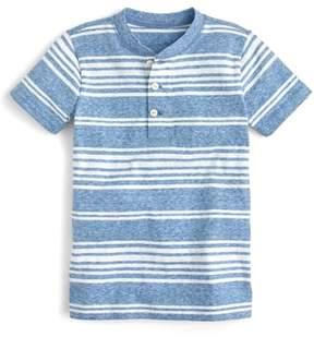 J.Crew crewcuts by Stripe Henley T-Shirt