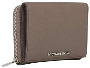 Michael Kors Samll Wallet Jet Set Travel Cinder Zip-around Billfold - ONE COLOR - STYLE