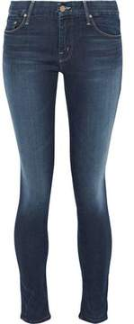 Mother Looker Faded Mid-Rise Skinny Jeans