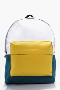 boohoo Colour Block Back Pack