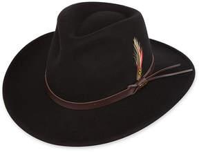 Scala Wool Felt Casual Outback Hat