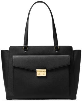Michael Kors Essex Large East West Tote - Black - 30F7GXST7L-001 - AS SHOWN - STYLE