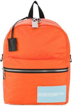 Calvin Klein 205W39nyc zip backpack