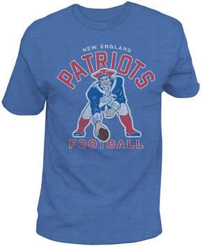 Authentic Nfl Apparel Men's New England Patriots Midfield Retro T-Shirt